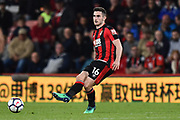 Lewis Cook (16) of AFC Bournemouth during the Premier League match between Bournemouth and Manchester United at the Vitality Stadium, Bournemouth, England on 18 April 2018. Picture by Graham Hunt.