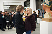 EDWIN TROCME; SUZANNE TROCME, Editor of Wallpaper: Tony Chambers and architect Annabelle Selldorf host drinks to celebrate the collaboration between the architect and three of Savile Row's finest: Hardy Amies, Spencer hart and Richard James. Hauser and Wirth Gallery. ( Current show Isa Genzken. ) savile Row. London. 9 January 2012.