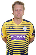 Hampshire all-rounder Gareth Berg in the 2016 Natwest T20 Blast Shirt. Hampshire CCC Headshots 2016 at the Ageas Bowl, Southampton, United Kingdom on 7 April 2016. Photo by David Vokes.