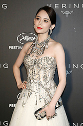 May 19, 2019 - Cannes, Alpes-Maritimes, Frankreich - Coulee Nazha at the Kering and Cannes Film Festival Official Dinner during the 72nd Cannes Film Festival at Place de la Castre on May 19, 2019 in Cannes, France (Credit Image: © Future-Image via ZUMA Press)