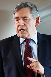 © Licensed to London News Pictures. 16/08/2015. London, UK. Former Prime Minister Gordon Brown gives a speech about the future of the Labour Party during 'Power For A Purpose' event hosted by Society of Labour Lawyers at Southbank Centre in London on Sunday, August 16, 2015. Photo credit: Tolga Akmen/LNP