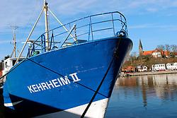 GERMANY ECKERNFOERDE 15FEB04 - Kehrheim II fishing boat in Eckernfoerde harbour.....jre/Photo by Jiri Rezac....© Jiri Rezac 2004..