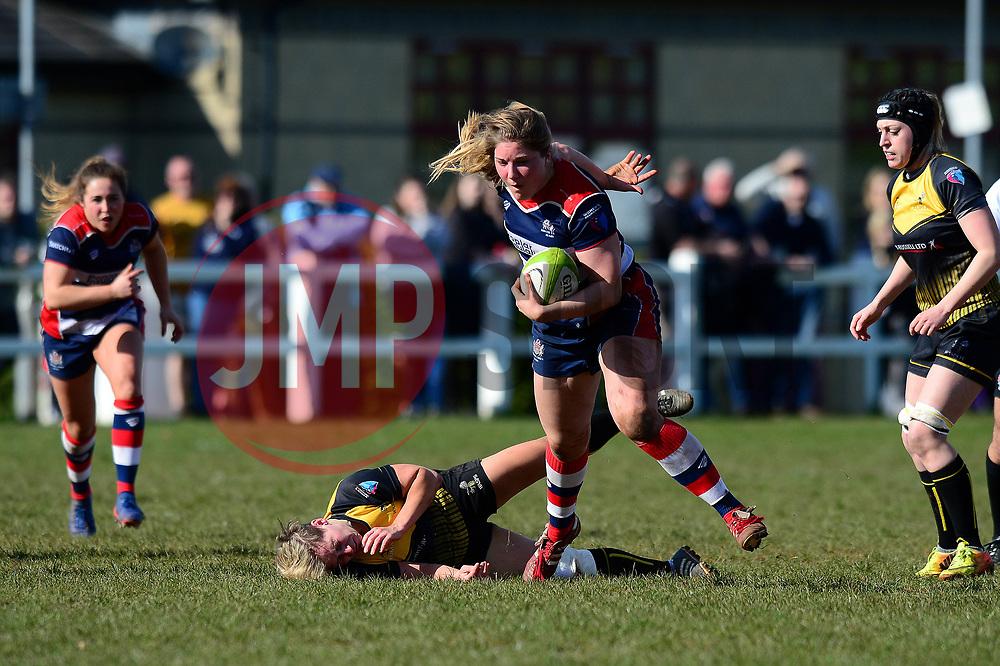 Poppy Cleall of Bristol Ladies - Mandatory by-line: Dougie Allward/JMP - 26/03/2017 - RUGBY - Cleve RFC - Bristol, England - Bristol Ladies v Wasps Ladies - RFU Women's Premiership