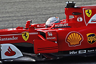 Sebastian Vettel of Scuderia Ferrari during the Bahrain Formula One Grand Prix Qualifying session at the International Circuit, Sakhir<br /> Picture by EXPA Pictures/Focus Images Ltd 07814482222<br /> 15/04/2017<br /> *** UK &amp; IRELAND ONLY ***<br /> <br /> EXPA-EIB-170415-0315.jpg