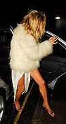 16.JANUARY.2007. LONDON<br /> <br /> KATE MOSS ARRIVNG HOME AT 4.00AM AFTER PARTING THE NIGHT AWAY ON HER 33RD BIRTHDAY AT THE DORCHESTER HOTEL.<br /> <br /> BYLINE: EDBIMAGEARCHIVE.CO.UK<br /> <br /> *THIS IMAGE IS STRICTLY FOR UK NEWSPAPERS AND MAGAZINES ONLY*<br /> *FOR WORLD WIDE SALES AND WEB USE PLEASE CONTACT EDBIMAGEARCHIVE - 0208 954 5968*