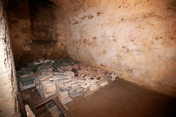 CZECH REPUBLIC FRYDLANT 5SEP15 - View of the cellars underneath Frydlant castle, Liberecko, Czech Republic.<br /> <br /> jre/Photo by Jiri Rezac<br /> <br /> © Jiri Rezac 2015