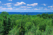 View of Great Lakes- St. Lawrence Forest and Lake Nipissing<br /> North Bay<br /> Ontario<br /> Canada