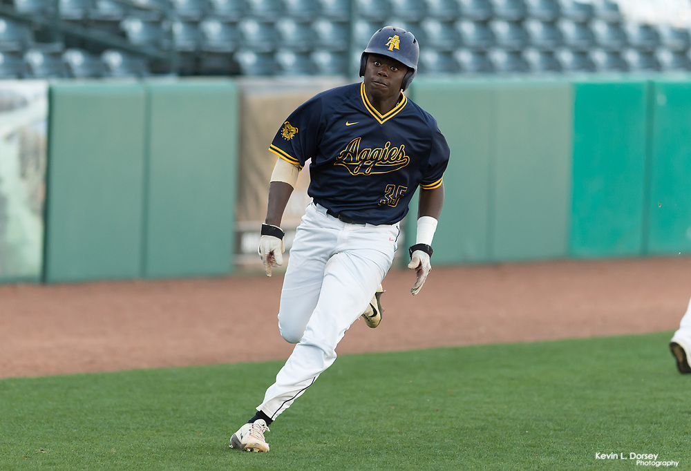 2017 A&T Baseball vs UNC-Greensboro \ www.ncataggies.com - Photo by: Kevin L. Dorsey