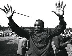 Dec. 12, 1968 - Uganda: Amin: Field Marshall al-Hajj Idi Amin Dada, VC, DSO, MC. President of the Republic. Born 1920. Commissioned 1961. Commander of the Army 1966. Head of State since coup of 1971. Credit:Camerapix (Credit Image: © Keystone Pictures USA/ZUMAPRESS.com)