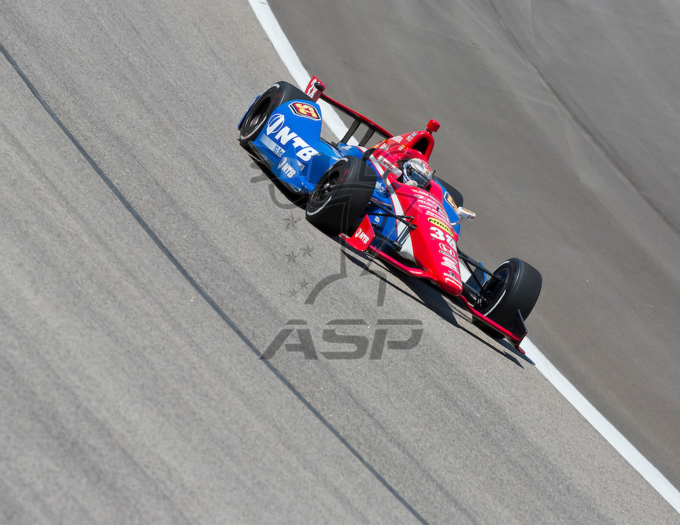 Ft WORTH, TX - JUN 08, 2012:  Graham Rahal (38) prepares to qualify for the Firestone 550 race at the Texas Motor Speedway in Fort Worth, TX.