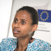 04 June 2015 - Belgium - Brussels - European Development Days - EDD - Climate - A plan for safer water supplies and sanitation in Africa - Atekelt Abebe Ketema ,<br /> Lecturer, School of Civil and Water Resources Engineering, Bahir Dar University © European Union