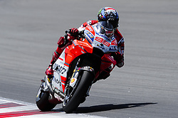 June 16, 2018 - Barcelona, Catalonia, Spain - The Spanish rider, Jorge Lorenzo of Ducati team, riding his Ducati during the Qualifying, Moto GP of Catalunya at Circuit de Catalunya on June 16, 2018 in Barcelona, Spain. (Credit Image: © Joan Cros/NurPhoto via ZUMA Press)