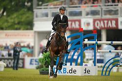 Kayser, Julia, Sterrehof´s Cayetano Z<br /> Wiesbaden - Pfingstturnier 2015<br /> Grosser Preis von Wiesbaden Riders Tour Etappe<br /> © www.sportfotos-lafrentz.de/Stefan Lafrentz