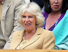 JUN 25 2014 Wimbledon Tennis Championships-Day three
