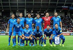 Team Israel during the 2020 UEFA European Championships group G qualifying match between Slovenia and Israel at SRC Stozice on September 9, 2019 in Ljubljana, Slovenia. Photo by Matic Klansek Velej / Sportida