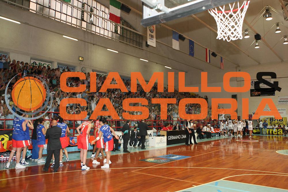 DESCRIZIONE : Faenza Lega A1 Femminile 2006-07 Finale Scudetto Gara 3 Germano Zama Faenza Phard Napoli <br /> GIOCATORE : Palazzetto <br /> SQUADRA : Germano Zama Faenza <br /> EVENTO : Campionato Lega A1 Femminile Finale Scudetto Gara 3 2006-2007 <br /> GARA : Germano Zama Faenza Phard Napoli <br /> DATA : 14/05/2007 <br /> CATEGORIA : <br /> SPORT : Pallacanestro <br /> AUTORE : Agenzia Ciamillo-Castoria/G.Ciamillo