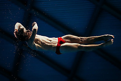 Anthony Harding from City of Leeds Diving Club competes in the Mens 3m Springboard - Mandatory byline: Rogan Thomson/JMP - 11/06/2016 - DIVING - Ponds Forge - Sheffield, England - British Diving Championships 2016 Day 2.