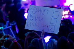 Fans of Taylor Swift show their support as she performs at Westfield shopping centre in London and switches on their Christmas lights, Tuesday, November 6th 2012. Photo By i-Images