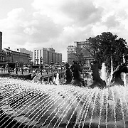 2000, Moscow - Equestrian fountain near Red square