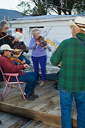 Montana Old Time Fiddlers Picnic, Livingston Montana
