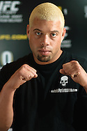 "A portrait of mixed martial arts athlete Eddie ""The Manic Hispanic"" Sanchez"