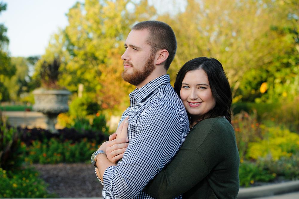 Kristina & Alex engagement photos at Ault Park in Cincinnati, Ohio.