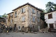 SAnti Lorenzo e Flavio village, almost completly destroyed by the sisma