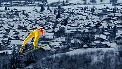 27.12.2014, Schattenbergschanze, Oberstdorf, GER, FIS Ski Sprung Weltcup, 63. Vierschanzentournee, Training, im Bild Roman Koudelka (CZE) // Roman Koudelka Czech Republic // during practice Jump of 63 rd Four Hills Tournament of FIS Ski Jumping World Cup at the Schattenbergschanze, Oberstdorf, Germany on 2014/12/27. EXPA Pictures © 2014, PhotoCredit: EXPA/ Peter Rinderer