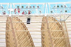 O secretário geral da FIFA Jerome Valcke durante visita as obras de reforma do estádio Beira Rio em 17 de outubro de 2012. O Estádio Beira Rio receberá jogos da Copa do Mundo de Futebol 2014. FOTO: Jefferson Bernardes/ Agência Preview