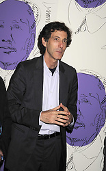 """RALPH RUGOFF the director of the Hayward Gallery at an exhibition of work by Andy Warhol entitled """"Other Voices, Other Rooms"""" at The Hayward Gallery, Southbank Centre, London SE1 on 6th October 2008."""