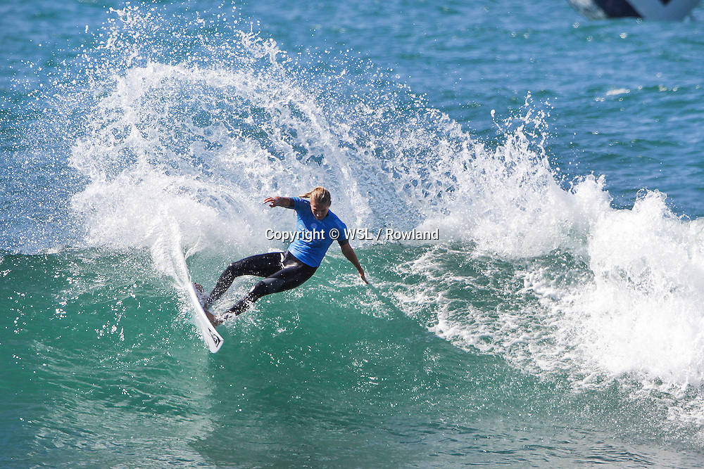 Stephanie Gilmore placed runner-up to Tyler Wright in the Swatch Women's Pro final.