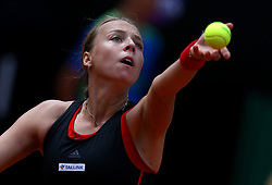 May 19, 2018 - Rome, Italy - Tennis WTA Internazionali d'Italia BNL quarter-finals.Anett Kontaveit (EST) at Foro Italico in Rome, Italy on May 19, 2018. (Credit Image: © Matteo Ciambelli/NurPhoto via ZUMA Press)