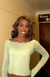 Kelly Rowland pictured backstage before getting changed for her solo show at Sheffield City Hall<br />