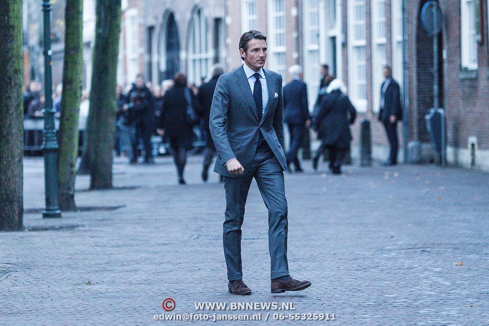 NLD/Delft/20131102 - Herdenkingsdienst voor de overleden prins Friso, prins Maurits