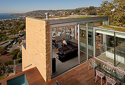 Zajfen Residence Laguna Beach CA by Paul Zajfen Architect photographed by Tom Bonner.  Job ID 5875