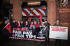 2019-02-14 TGI Fridays 1st Anniversary Fair Tips/Fair Pay protests