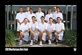 Hurricanes Men's Tennis Team Photos 2002-11