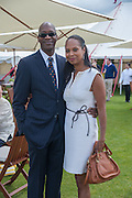 ED MOSES; MICHELLE MOSES, Cartier Queen's Cup. Guards Polo Club, Windsor Great Park. 17 June 2012