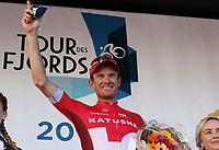 Sykling , 4. September 2016 , Tour Des Fjords<br />Alexander Kristoff vant den avsluttende etappen i Tour des Fjords søndag, og sikret dermed sammenlagtseieren i rittet.<br />Foto: Andrew Halseid Budd , Digitalsport