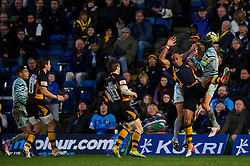 during the second half of the match - Photo mandatory by-line: Rogan Thomson/JMP - Tel: Mobile: 07966 386802 25/11/2012 - SPORT - RUGBY - Adams Park - High Wycombe. London Wasps v Leicester Tigers - Aviva Premiership.