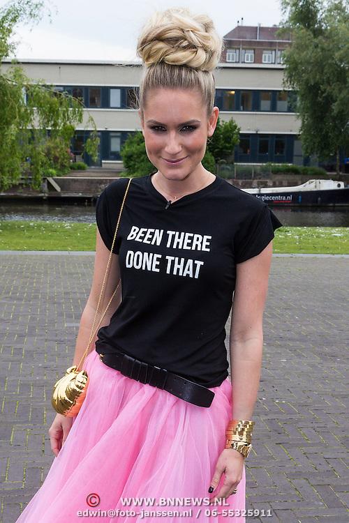 """NLD/Amsterdam/20130626 - Uitreiking Jackie""""s Best Dressed 2013, Nikkie Plessen"""
