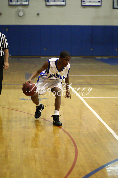 MCHS JV Boys Basketball.vs Manassas Park.2/5/2008..