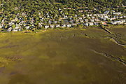Aerial view of Mount Pleasant, SC.