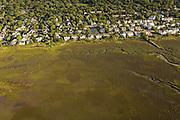 Aerial view of Mount Pleasant, SC.