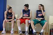 Debora Carangelo, Maddalena Gaia Gorini, Sabrina Cinili<br /> Raduno Nazionale Italiana Femminile Senior - Allenamento<br /> FIP 2017<br /> Roma, 14/05/2017<br /> Foto Ciamillo - Castoria