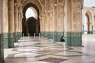 Morocco. Hassan II Mosque in Casablanca.