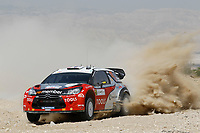 MOTORSPORT - WRC 2011 - JORDAN RALLY - 14 TO 16/04/2011 - DEAD SEA (JOR) - PHOTO : FRANCOIS BAUDIN / DPPI - <br /> 11 PETTER SOLBERG (NOR) / CHRIS PATTERSON (GBR) - CITROËN DS3 WRC - PETTER SOLBERG WRT - ACTION