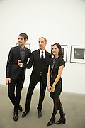 ADAM PETERS; DAVID CROLAND, Fashion Show: Robert Mapplethorpe. Alison Jacques Gallery. Berners St. London. 10 September 2013