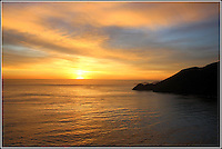 Sunset Behind Point Diablo<br />