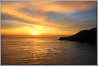 Sunset Behind Point Diablo<br /> Marin Headlands, California